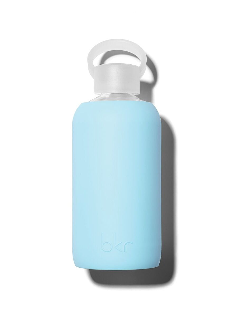 Opaque Robins Egg Blue Water Bottle