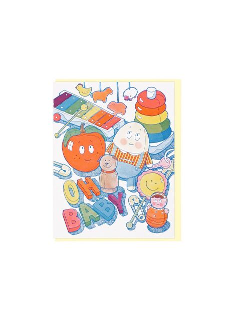Oh Baby Toys Card