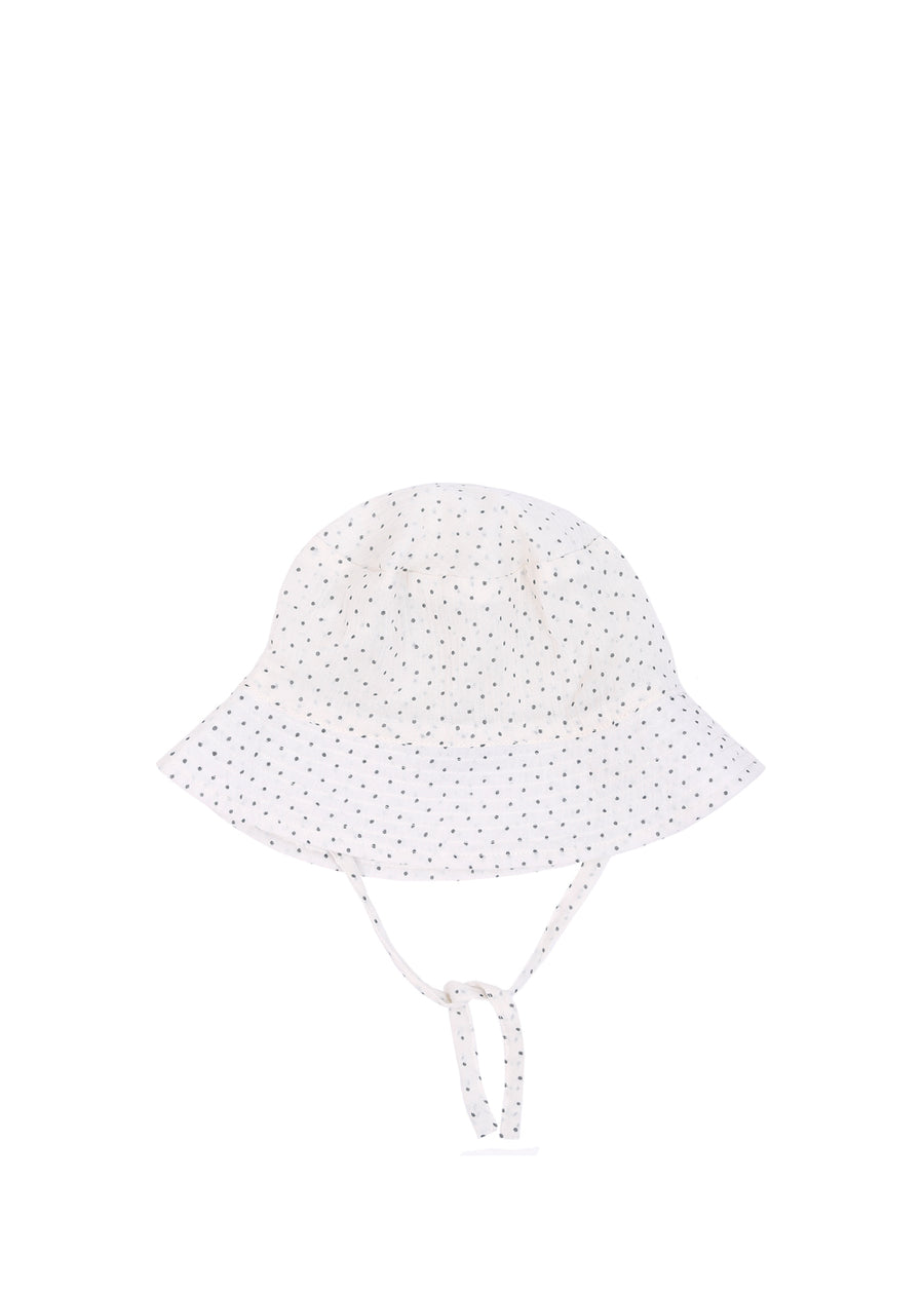 Kids Polka Dots Sun Hat