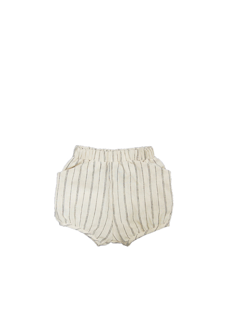 Natural Stripe Woven Short