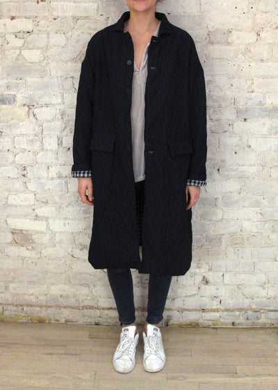 Dark Indigo Morgan Coat