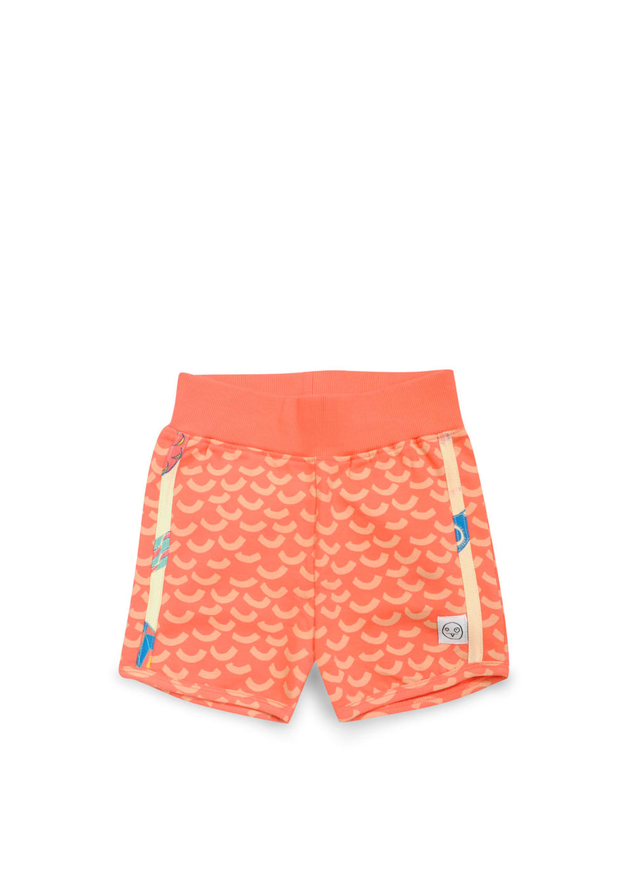Coral Tropical Wave Shorts