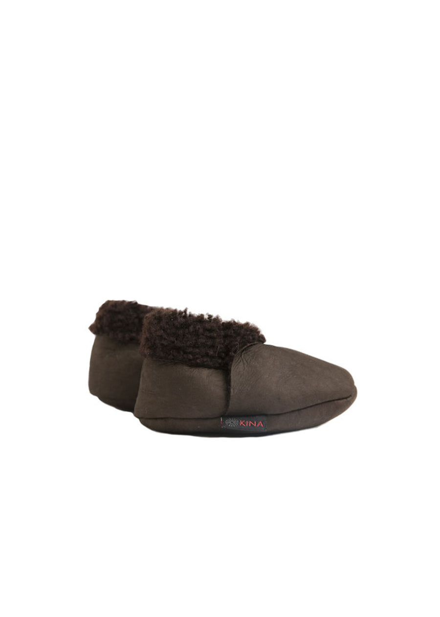 Dark Brown Kina Bootie