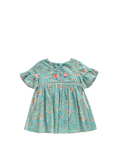 Girls Bloom Flower Sakina Dress