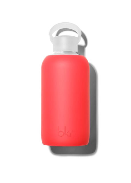 Sheer Red Water Bottle