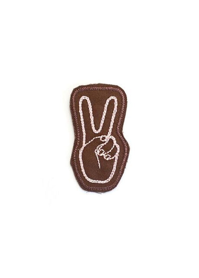 Peace Patch-Brown