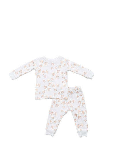 Blush Palm Pajama Set
