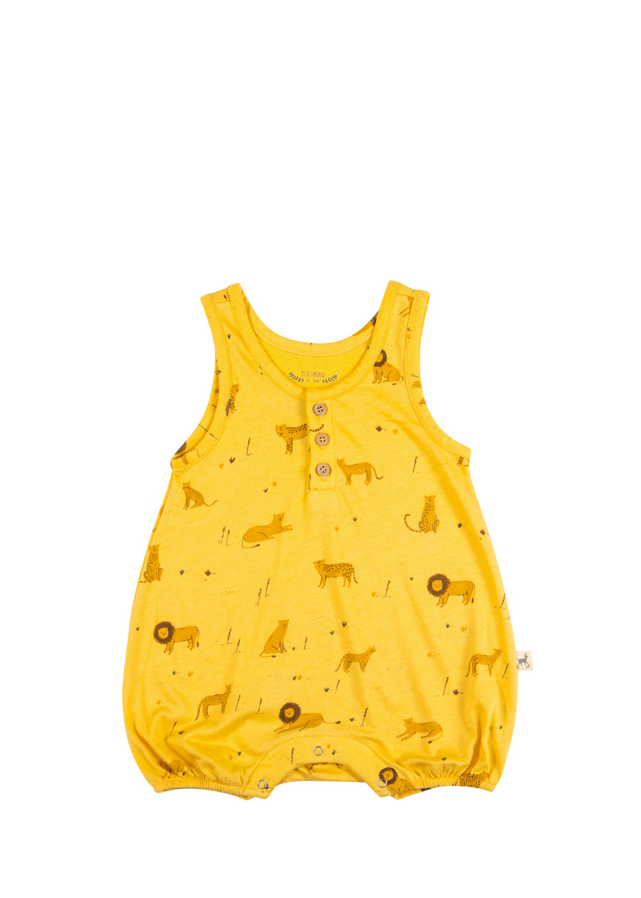 Baby Maize Big Cats Tank Romper