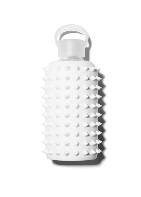 Opaque White Spiked Water Bottle