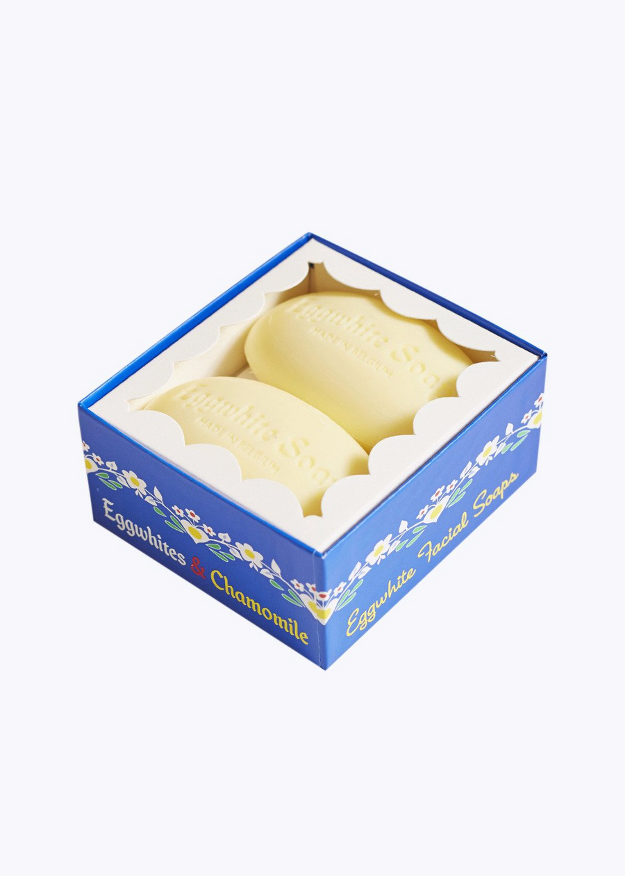 Eggwhite Facial Soap Gift Box