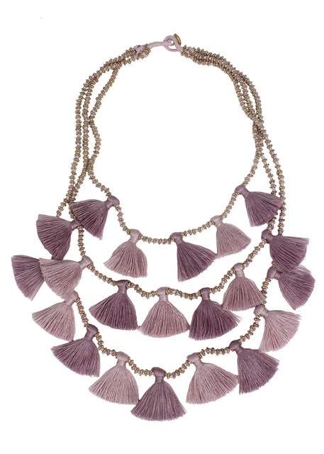 Orchid Gia Necklace by Bluma Project
