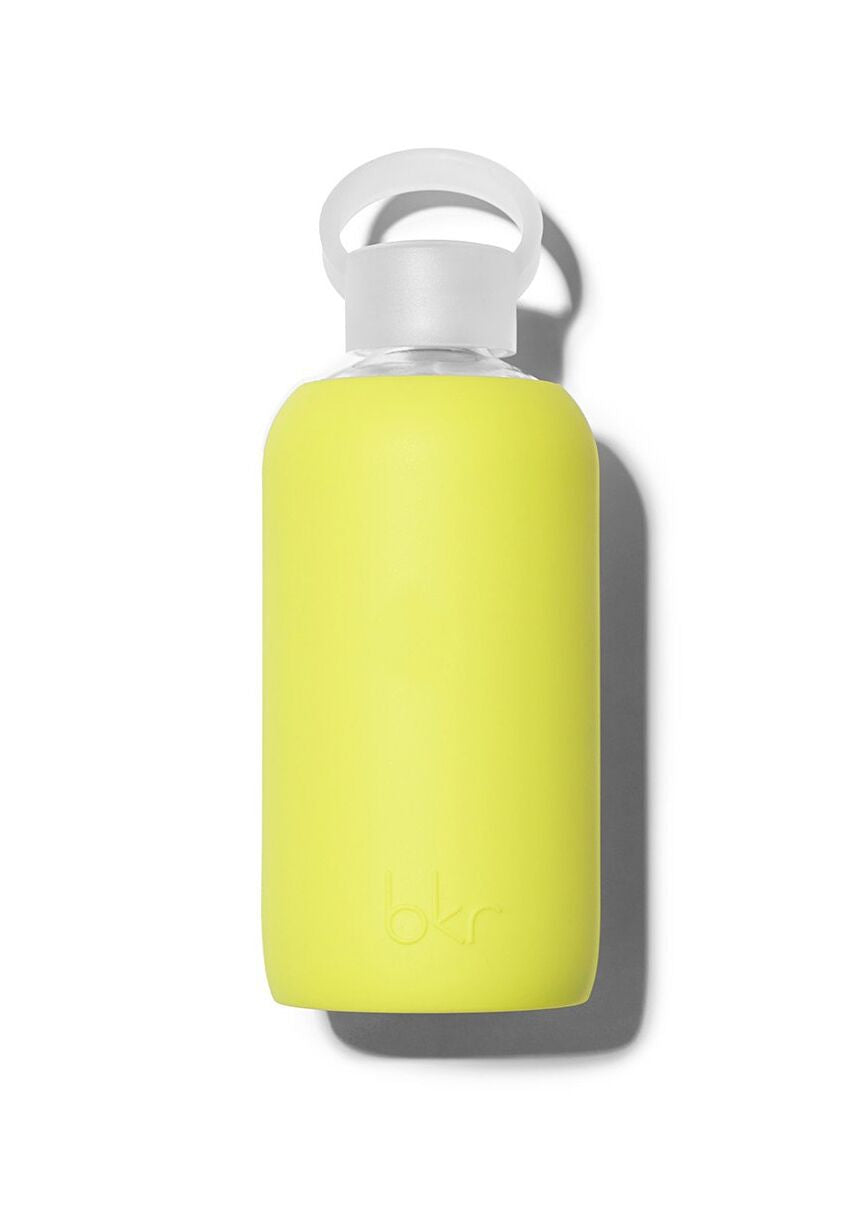 Lime Yellow Water Bottle