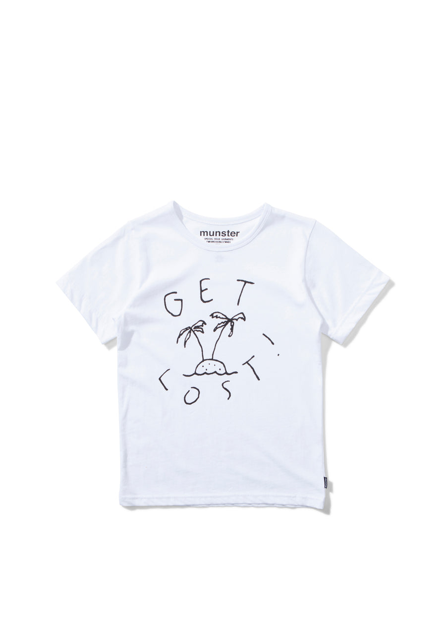 Kids White Gilligan Tee