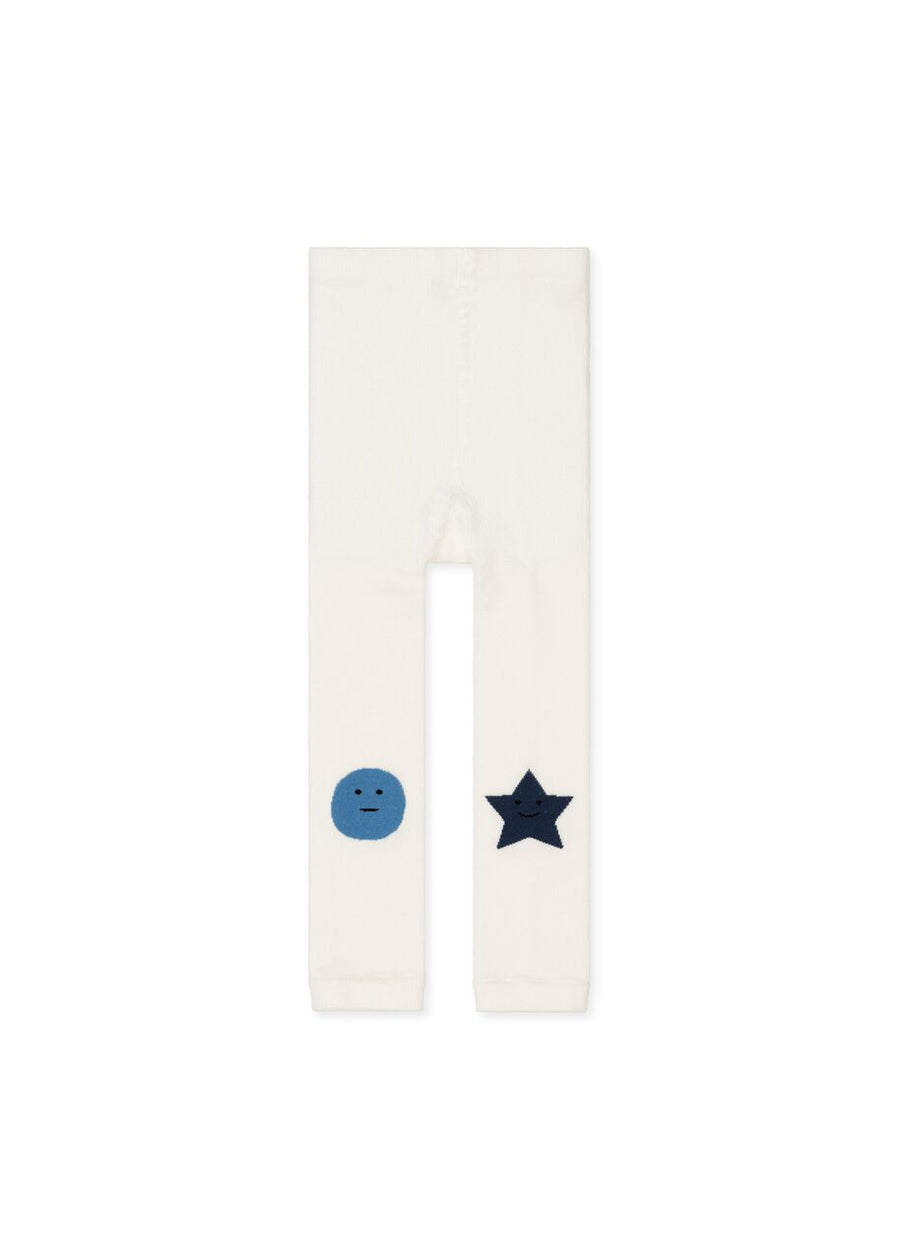 Kids Ivory Faces Legging