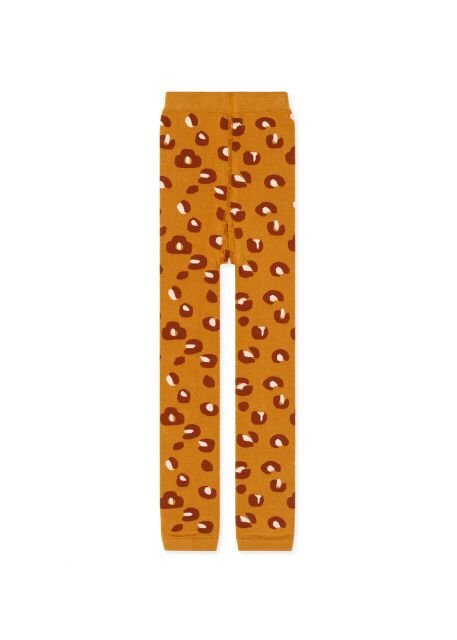 Kids Ochre Mini Cheetah Legging