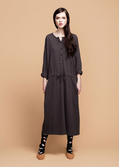 Dark Gray Dresden Dress