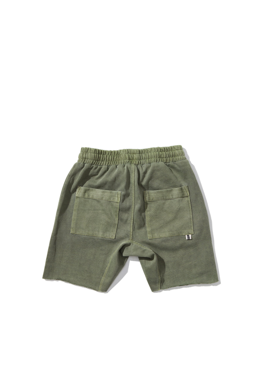 Kids Olive Kick Back Short