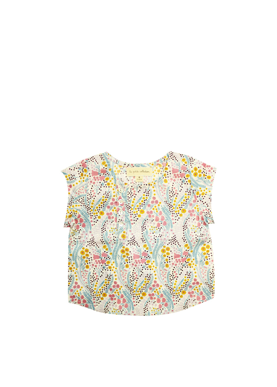 Bell Flower School Blouse
