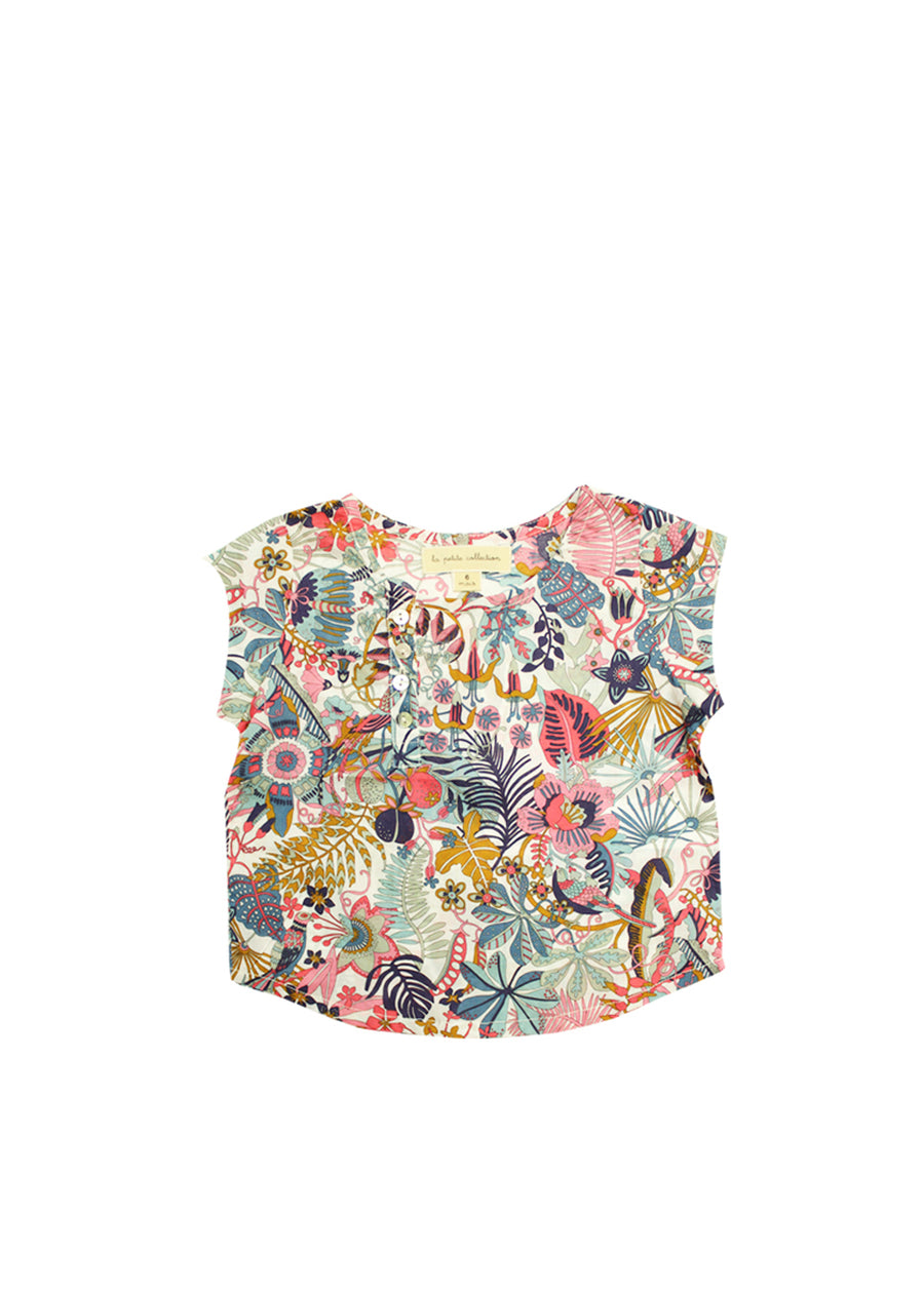 Tropical Trails School Blouse