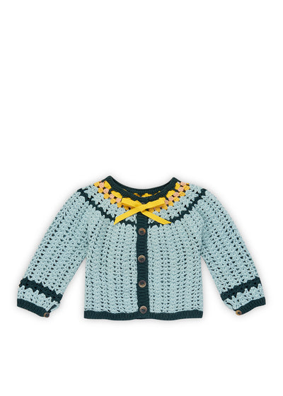 Faded Indigo Golda Cardigan