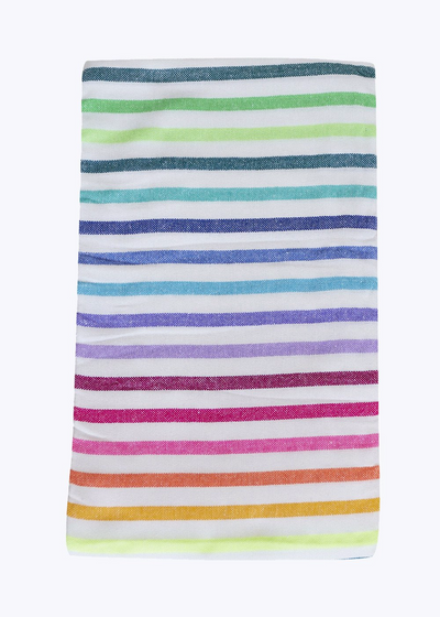 Rainbow Stripe Beach Blanket 1