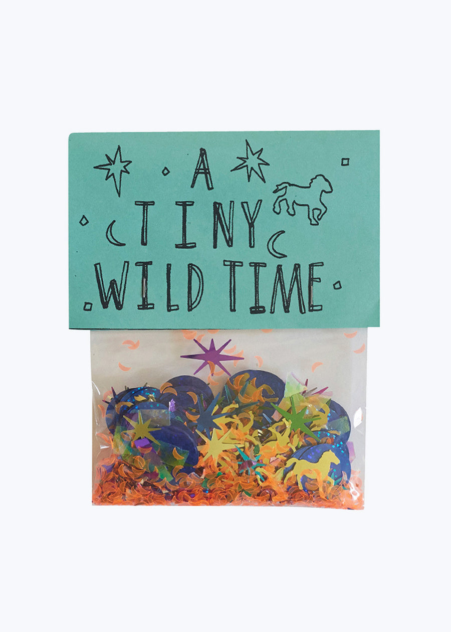 A Tiny Wild Time Confetti