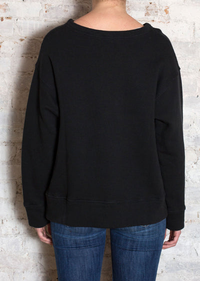 Black Pam Sweatshirt
