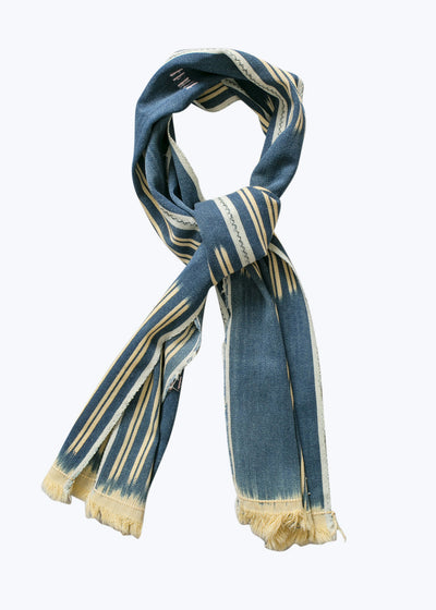 Yellow/Blue Mate Scarf