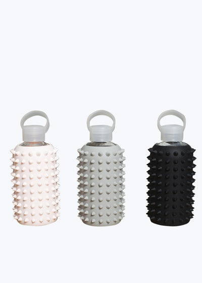 Opaque Black Spiked Water Bottle