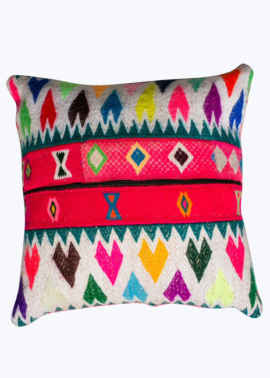 Bright Peruvian Pillow