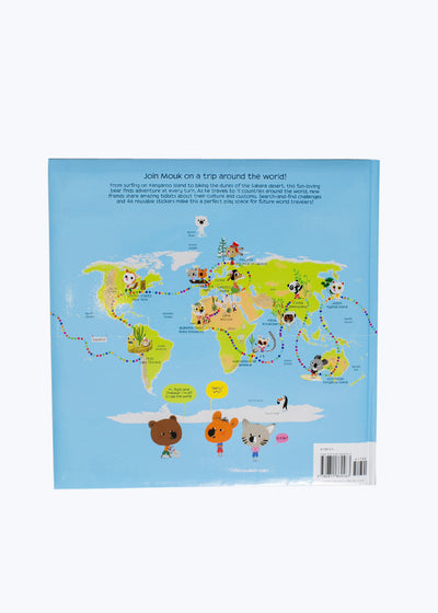 Around the World with Mouk Book