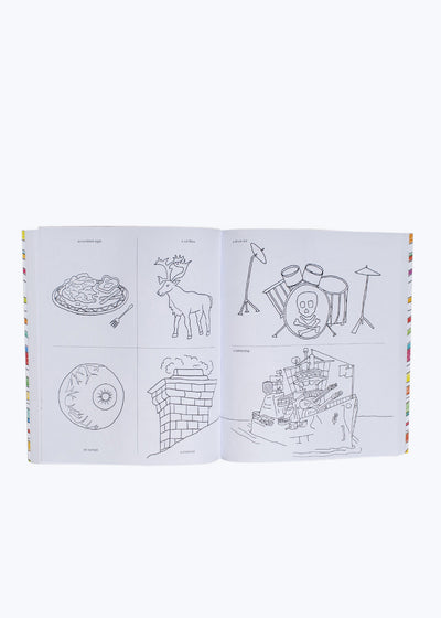 642 Things to Color Book