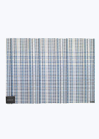 Blue Grid Placemat