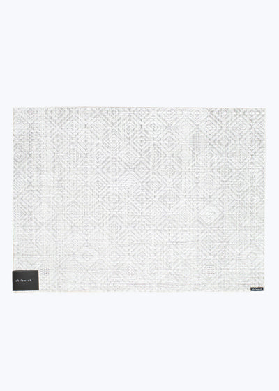 Gray Mosaic Placemat