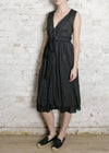 Black Tie Waist Julia Dress