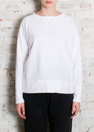 White Pam Sweatshirt