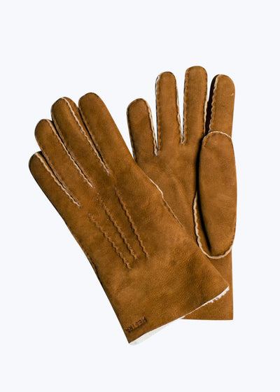Cork Sheepskin Gloves-8
