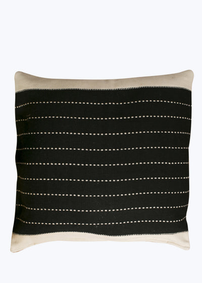 Large Black/Natural Cushion