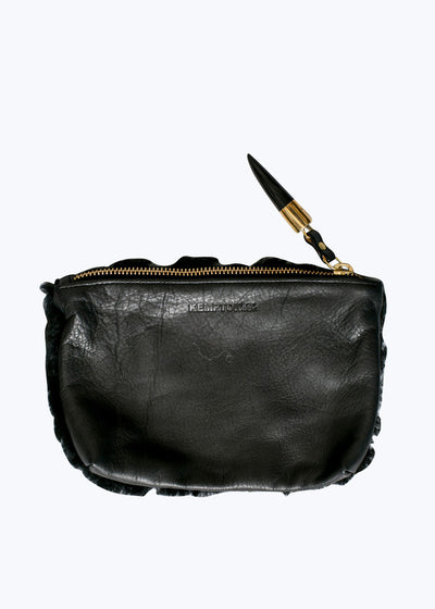 Black Marlborough Cosmetic Pouch