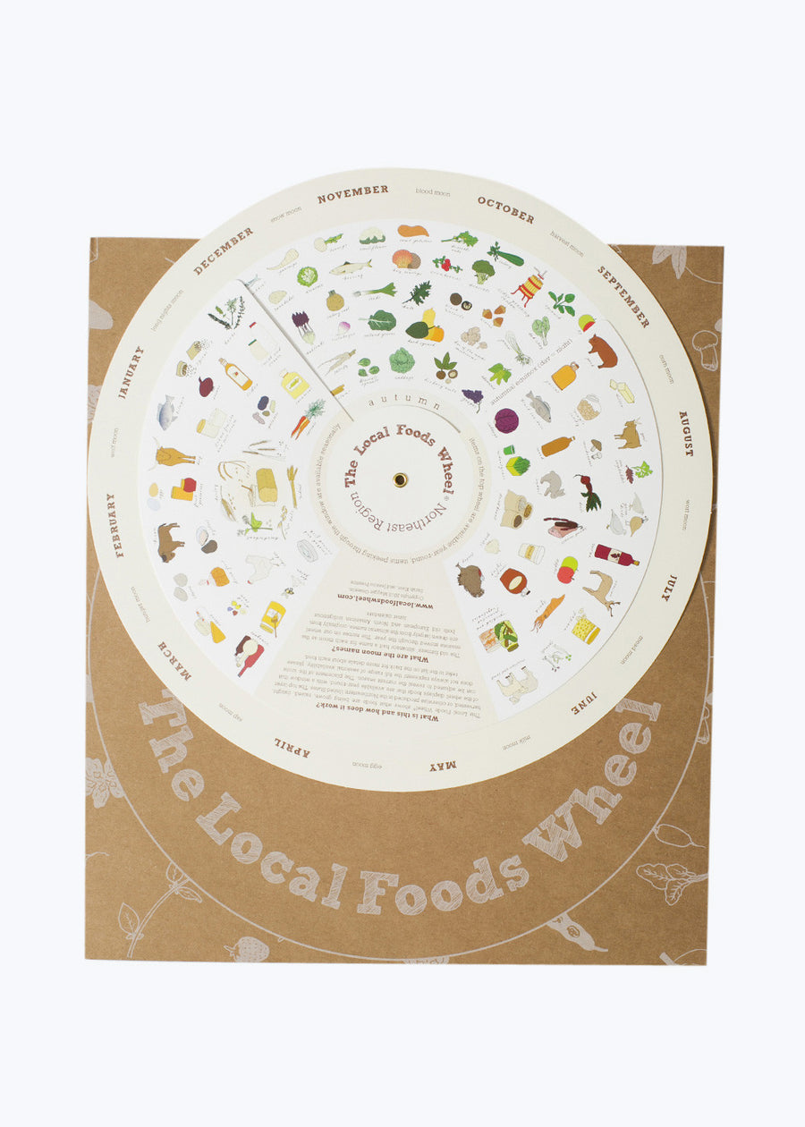 Northeast Local Foods Wheel
