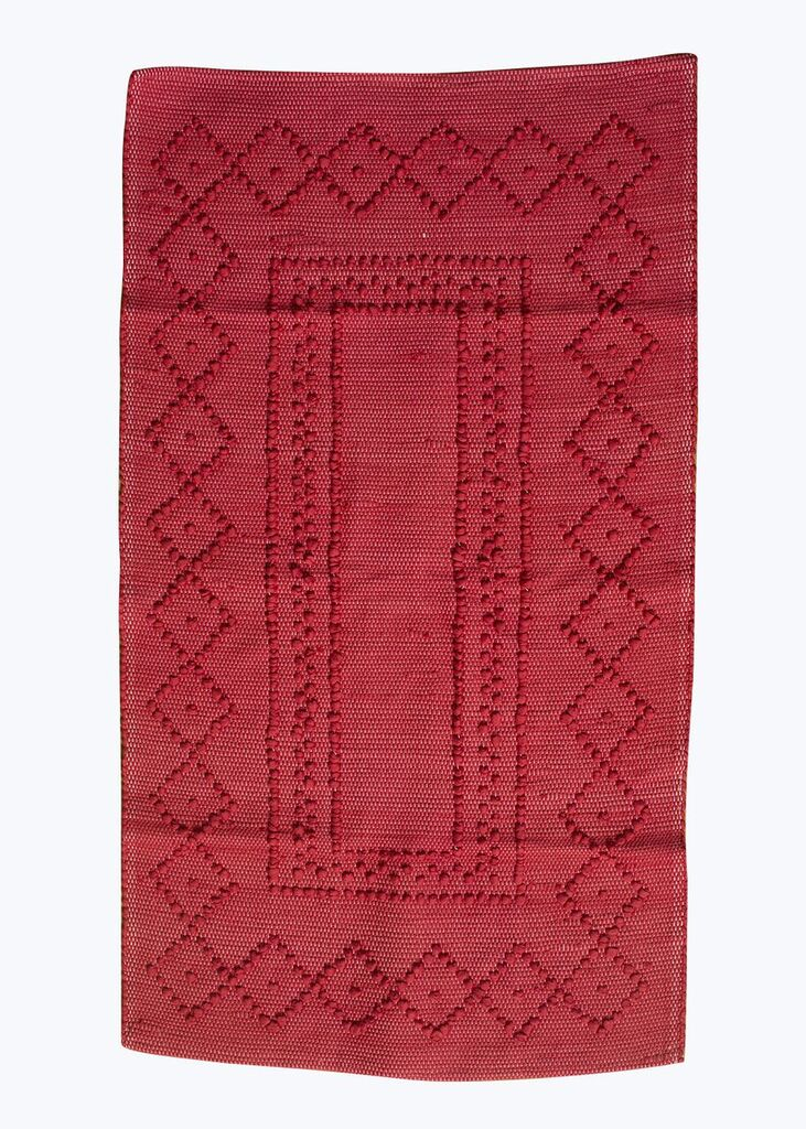 Berry Rectangle Portuguese Bath Mat