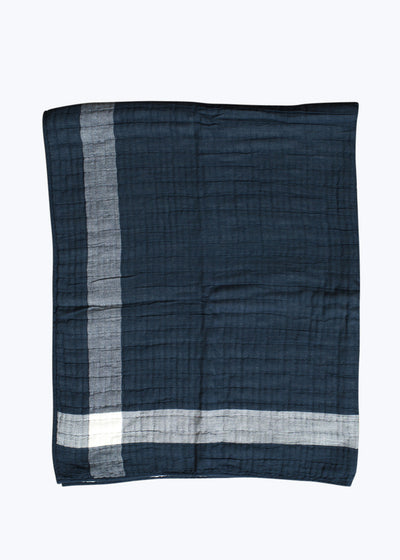 Navy Sidekick Blanket