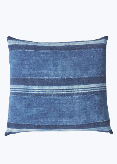 Mid Blue 3 Stripe Pillow