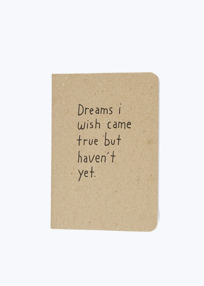 Dreams Mini Notebook