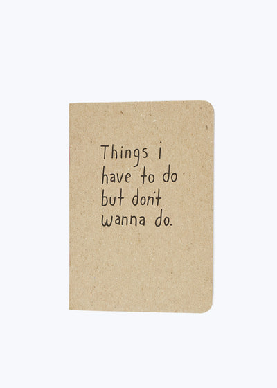 Things Mini Notebook