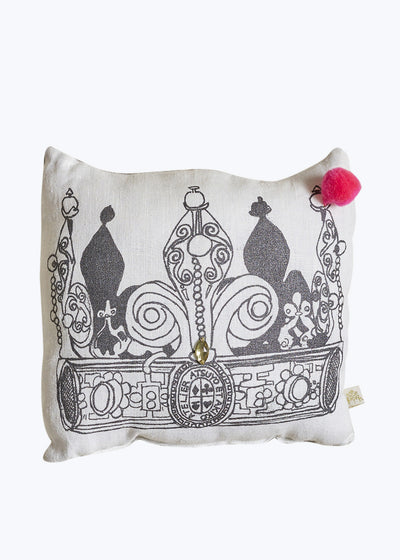 Palais Royale Cushion w/ Pompom