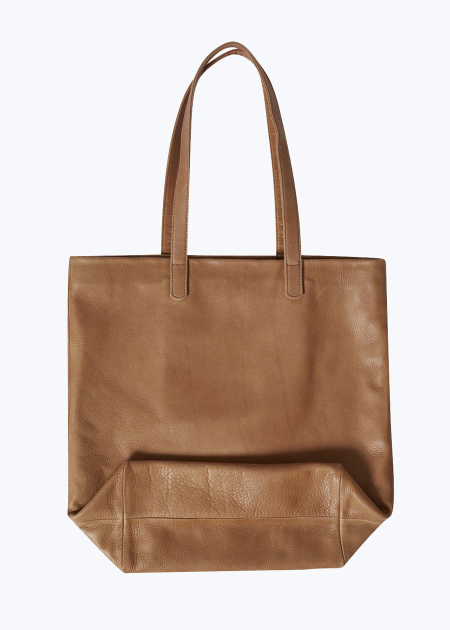 Saddle Leather Basic Tote