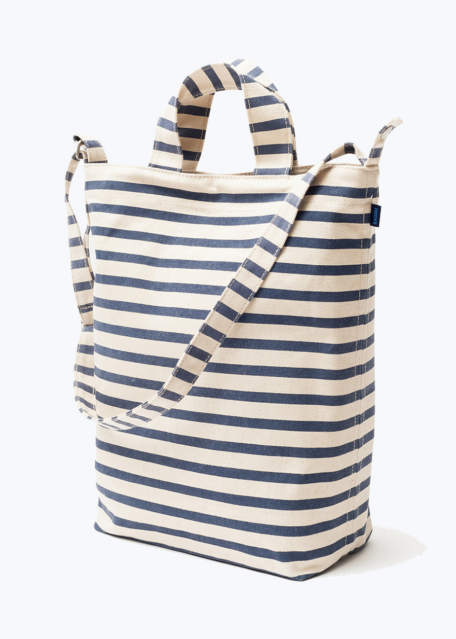 Sailor Stripe Canvas Duck Bag