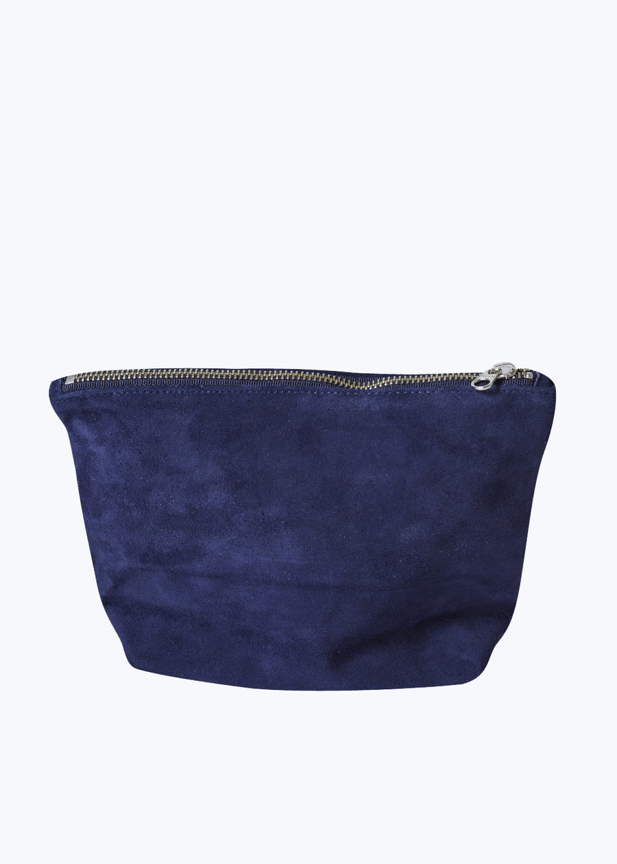 Midnight Suede Medium Stash Clutch