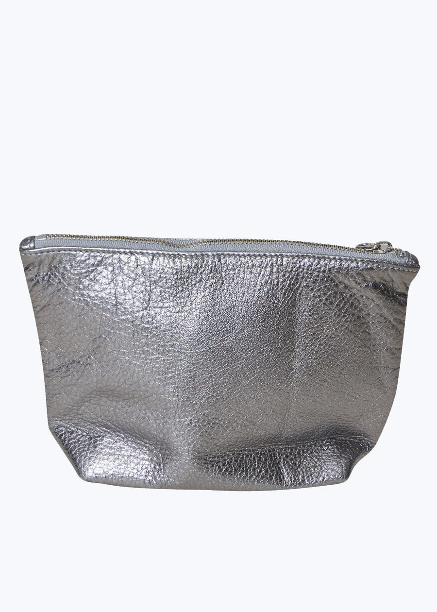 Mineral Leather Medium Stash Clutch